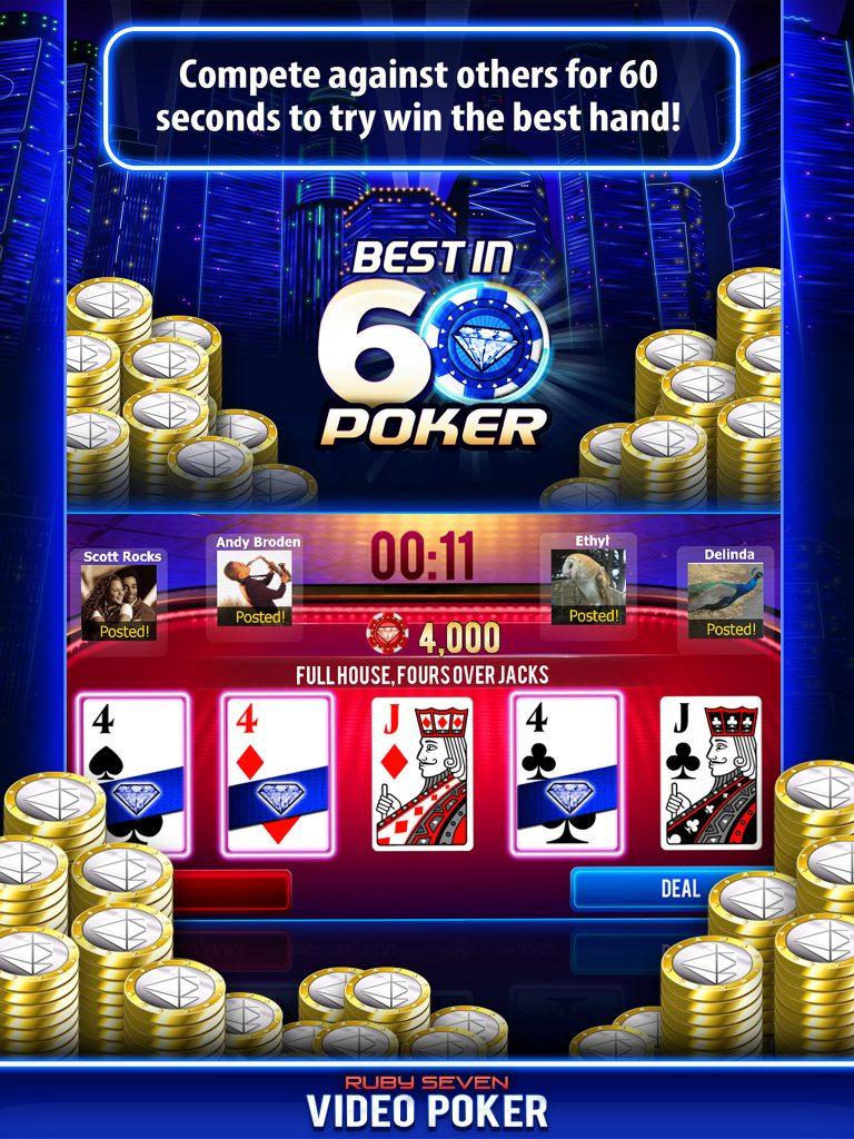 best in 60 poker